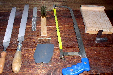 Rough stone shaping  tools