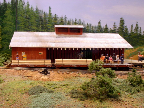 Overview of apple shed