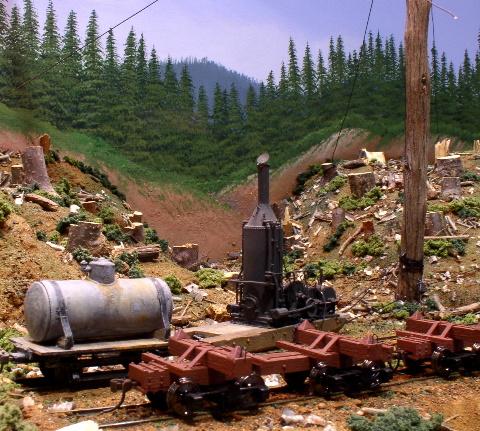 Brad Lloyd's logging section