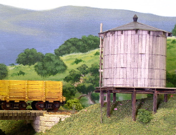 Round hill mill water tank
